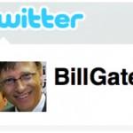 Билл Гейтс прошел барьер в 100 тысяч фолловеров на Твиттере за 8 часов!