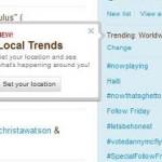 Tвиттер запускает новую функцию – Local Trends