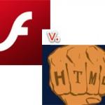 HTML5 побеждает Adobe Flash в читательском опросе