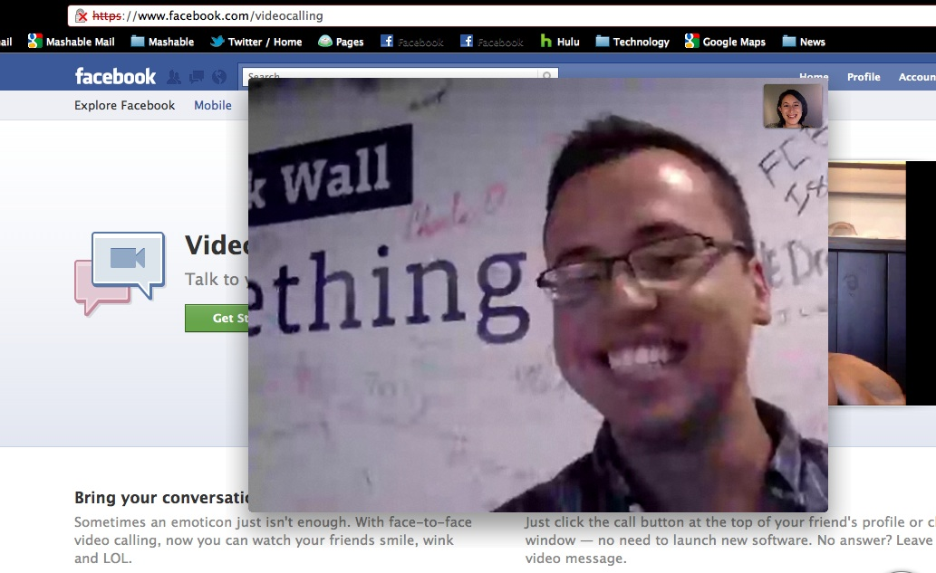 Facebook video calling software for windows 8