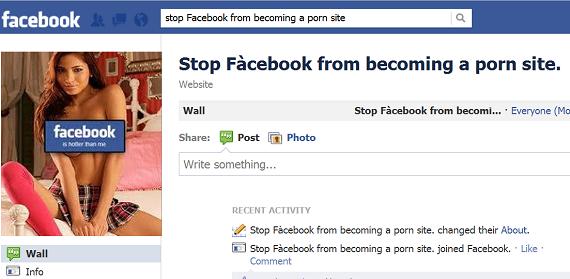 Порно на фейсбук