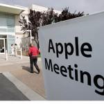 Стенограмма совета акционеров Apple