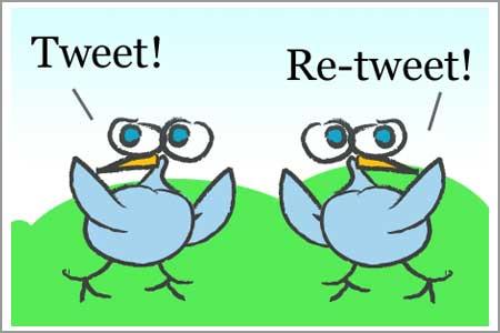 tweet-retweet