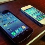 iPhone 4S Screen. Как из Android сделать iOS… хотя бы в шутку