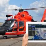 Как пилот спасательного вертолёта использует iPad