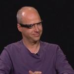 Основатель Google X дал интервью в очках Project Glass и сделал ими фотографию