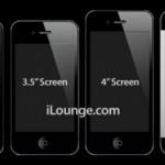 Слухи: iPhone 5 станет тоньше и получит 4-дюймовый дисплей