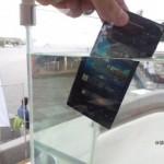 Влагозащищенные смартфоны Sony Xperia go и Xperia acro S. Первые впечатления
