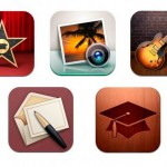 Apple обновила iMovie, iPhoto, Garageband, Cards и iTunes U