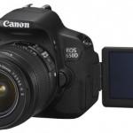 Зеркалка Canon EOS 650D: 18 МП, гибридный автофокус и поворотный сенсорный экран