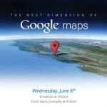 6 июня Google представит новые Карты