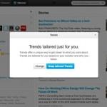 Твиттер: Tailored Trends помогут узнать больше