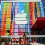 Декорации к анонсу iPhone 5 сделаны из растянутых иконок