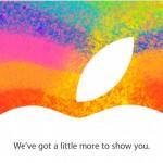 Apple разослала приглашения на презентацию iPad mini