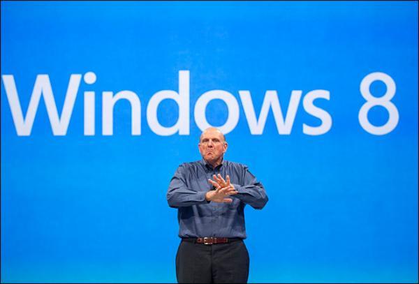 Windows 8 пользуется очень низким спросом
