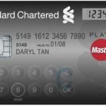 Банковская карта MasterCard с клавиатурой и дисплеем