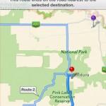 Полиция города Милдура предупреждает пользователей iOS6 об опасности
