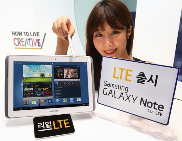 LG хочет запретить продажи Samsung Galaxy Note 10.1