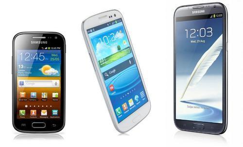 В 2013 году Samsung отгрузит полмиллиарда телефонов