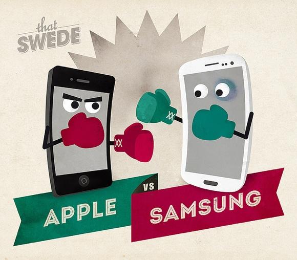 Samsung метит на место Apple