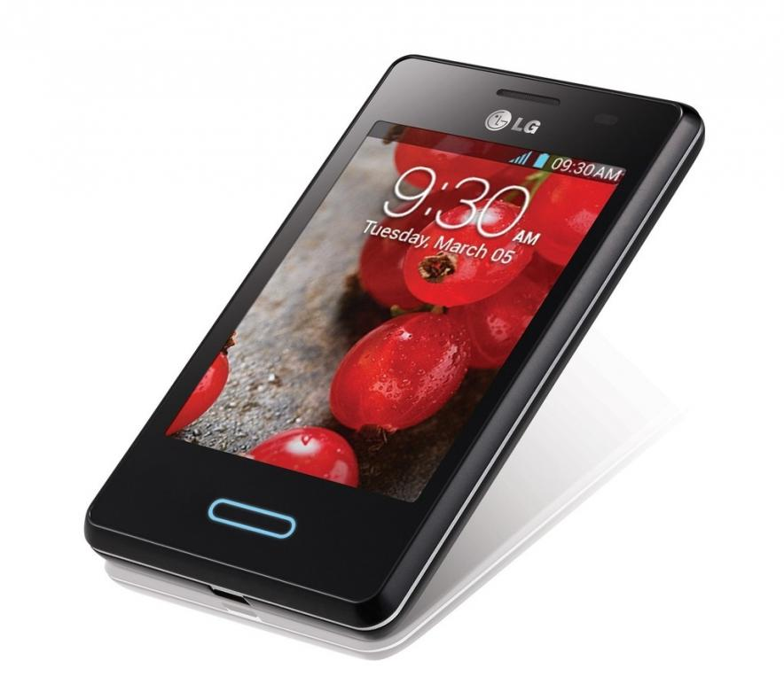 Мировой дебют LG Optimus L3 II