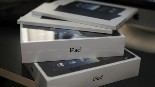 Спрос на новый iPad 4 пока не велик