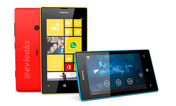 Nokia Lumia 520 и 720: новые подробности