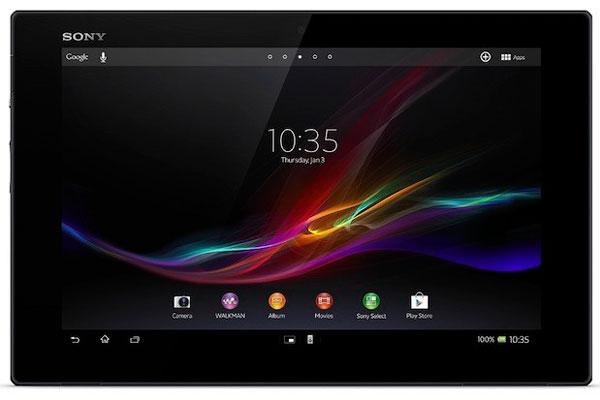 Sony объявила о глобальном релизе планшета Xperia Tablet Z