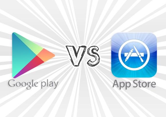 App Store приносит в 3,5 раза больше прибыли, чем Google Play