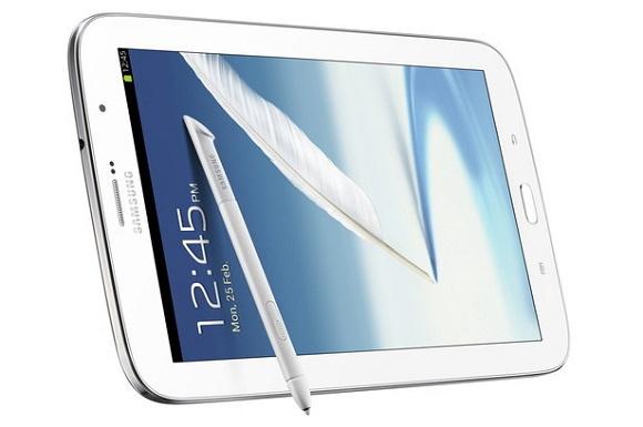 Samsung представила своего конкурента iPad mini – Galaxy Note 8.0