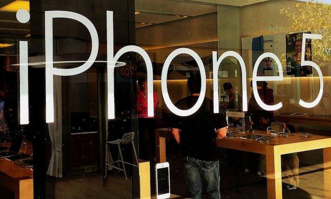 Популярность iPhone снижает долю Android