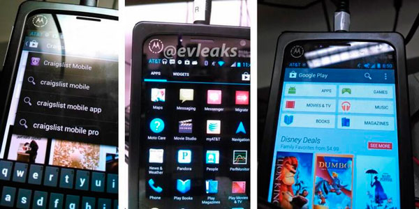 В сеть просочились новые фото Motorola X Phone