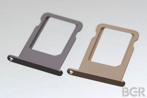 SIM-лоток для iPhone 5S намекает на цветные модели