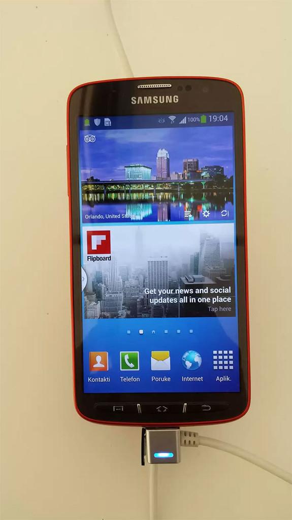 """""""Живые"""" фото Samsung Galaxy S4 Active"""