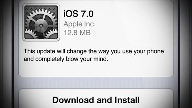 iOS 7: что известно на сегодняшний день?