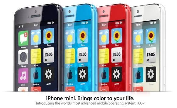 Концепт «дешёвых iPhone» с концептом iOS 7
