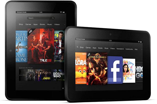 Amazon готовит 10,1-дюймовый Kindle Fire