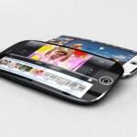 Концепт изогнутого iPhone 5S со сканером отпечатков пальца