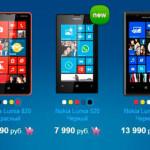 Nokia снизила официальные цены на смартфоны Lumia