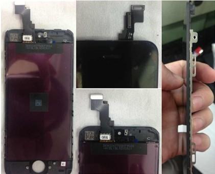 Утечка: фотографии компонентов Apple iPhone 5S появились в сети
