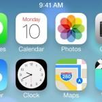 Первые результаты работы Apple над iOS 7