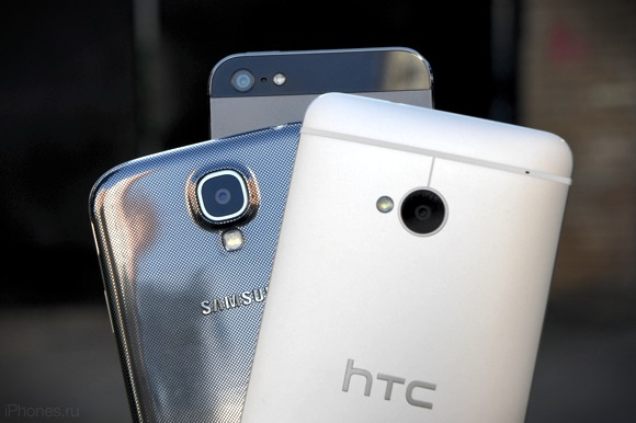Сравнение суперфлагманов: HTC One, Samsung Galaxy S4 и iPhone 5