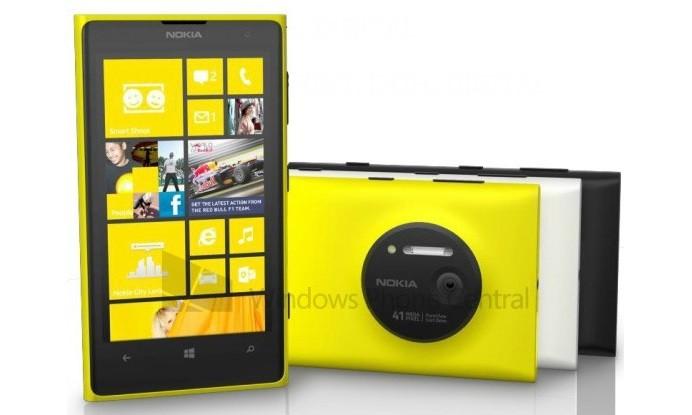 Все характеристики Nokia Lumia 1020