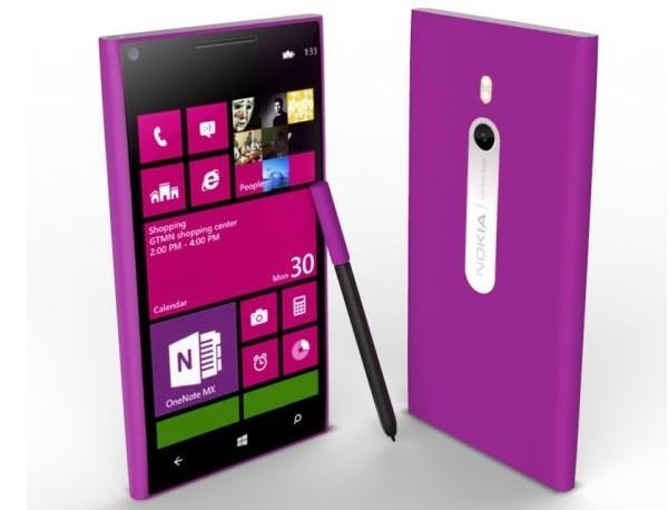 Фото ультратонкого 6-дюймового смартфона Nokia