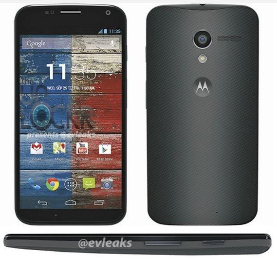 Moto X представят 1 августа, пресс-фото смартфона