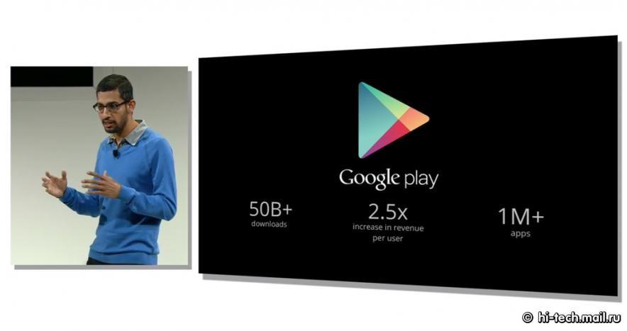 Google представила новый Nexus 7, Android 4.3 и Chromecast