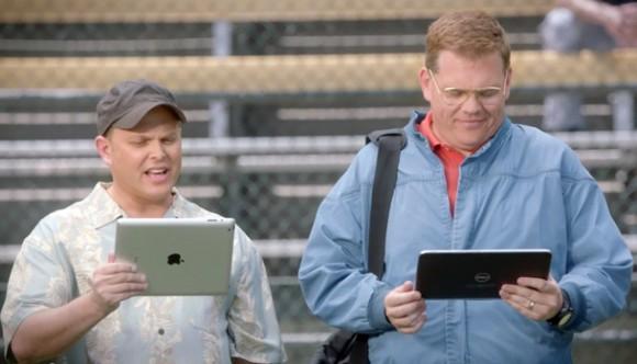 Новый стёб: в рекламе Microsoft прославляет планшеты на Windows 8