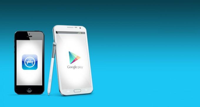 Google Play впервые обошел App Store по количеству загрузок, но не по доходам