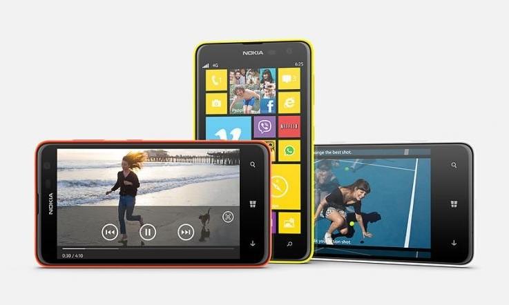Nokia Lumia 625 уже в России