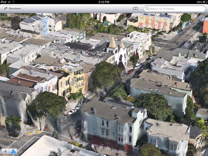 Apple нанимает дополнительный персонал для улучшения собственных карт